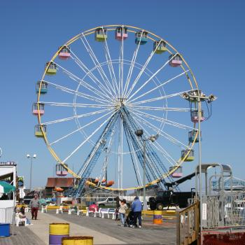 Seaside Boardwalk Ferris Wheel